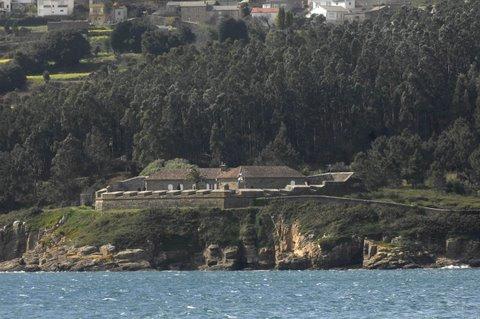 Castillo del Cardenal. Corcubion